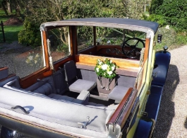 1926 Vintage Rolls Royce wedding car in Brentwood